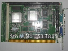 SBC-357/4M is an all-in-one single board 386 computer motherboard with an onboard flat panel