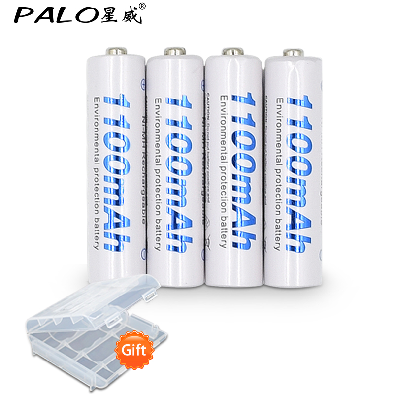 4 pcs 1100mAh 1.2v AAA rechargeable battery for LED light Toy placement battery for camera MP3 mp4 microphone free shipping 30pcs pneumatic 8mm to 8mm t shaped quick fitting connector pe8