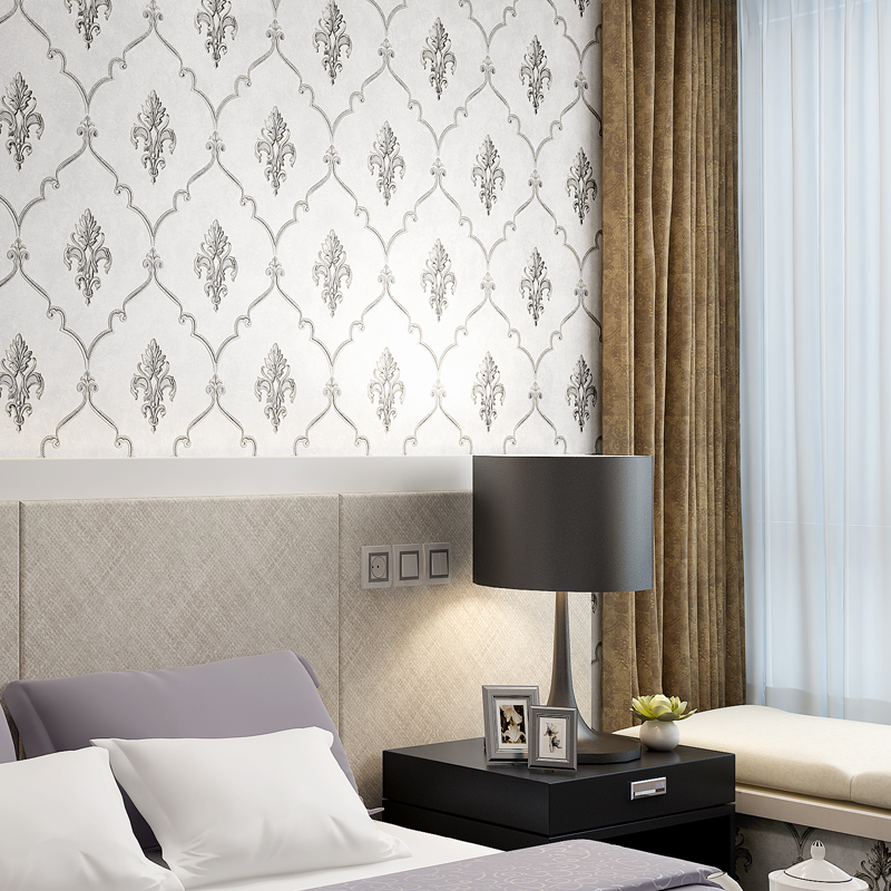 Online Buy Wholesale Blue Damask Wallpaper From China Blue
