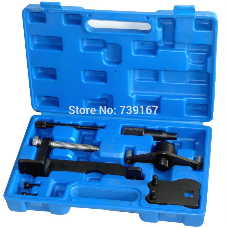 Diesel Engine Timing Camshaft Flywheel Locking Drive Belt Replace Alignment Tool Kit For VAUXHALL GM OPEL SAAB 2.0 ST0132 engine camshaft alignment timing tool kit for audi vw 2 0l fsi tfsi