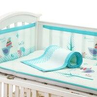 2Pcs/Set Baby Bed Bumper in the Crib Baby Bedding Bumper Bed Breathable Crib Bumper for Baby Girls Boys Bumper Infant Crib