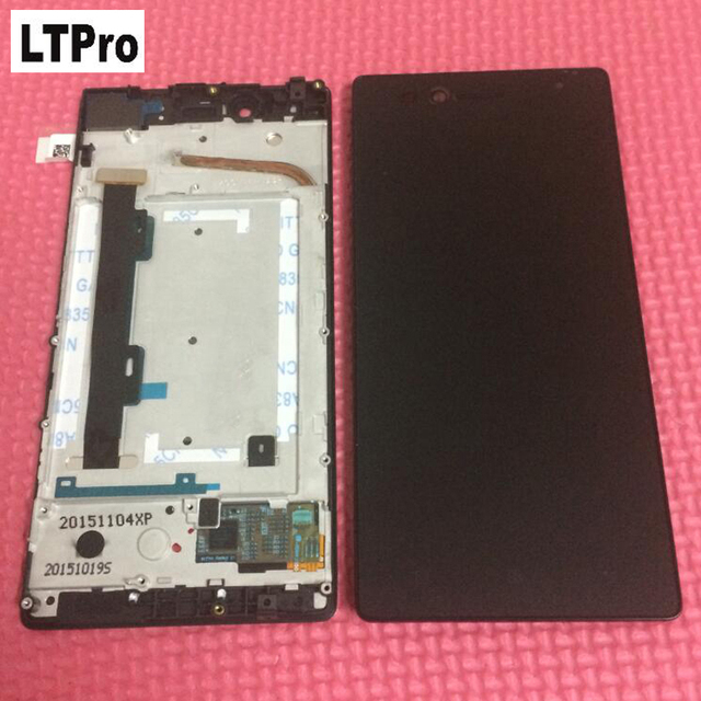 LTPro High quality Test work Frame+lcd display touch screen digitizer assembly for Lenovo VIBE Shot MAX Z90 z90a40 z90-7 Parts