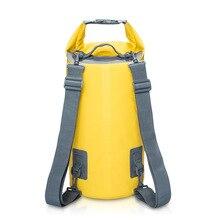 ПВХ Водонепроницаемый сухой мешок 5L 10L 15L 20L Открытый Дайвинг складная сумка для хранения Мужская Женская пляжная сумка для плавания рафтинг река океан рюкзак