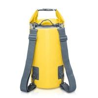 ПВХ Водонепроницаемый сухой мешок 5L 10L 15L 20L Открытый Дайвинг складная сумка для хранения Мужская Женская пляжная сумка для плавания рафтинг...