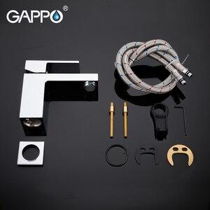 Image 5 - GAPPO אגן ברז מפל ברז אמבטיה אמבטיה מיקסר אמבטיה פליז מיקסר מים כיור מיקסר