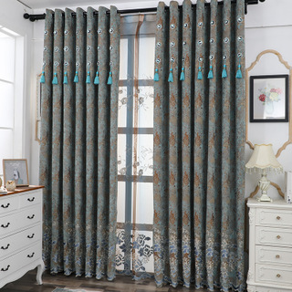 2019 European and American style high quality curtains, creating attractive quality and creating a loyal group 82296