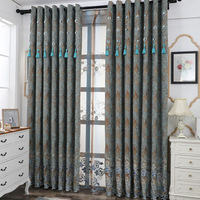 2019 European and American style high quality curtains, quality products, is the golden key to open the door to the marke 822103