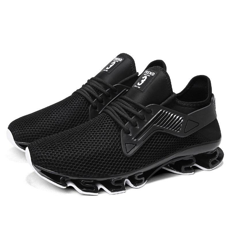 Chaussures de course hommes baskets nouveau 2018 haute qualité Cool respirant chaussures sport chaussures mâle athlétique en plein air Jogging baskets hommes