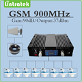 Conjunto completo de Uno a Muchos Grandes $ number db de Ganancia de Potencia repetidor GSM 900 mhz Señal móvil de Refuerzo gsm 900 amplificador de la Antena y Los Cables