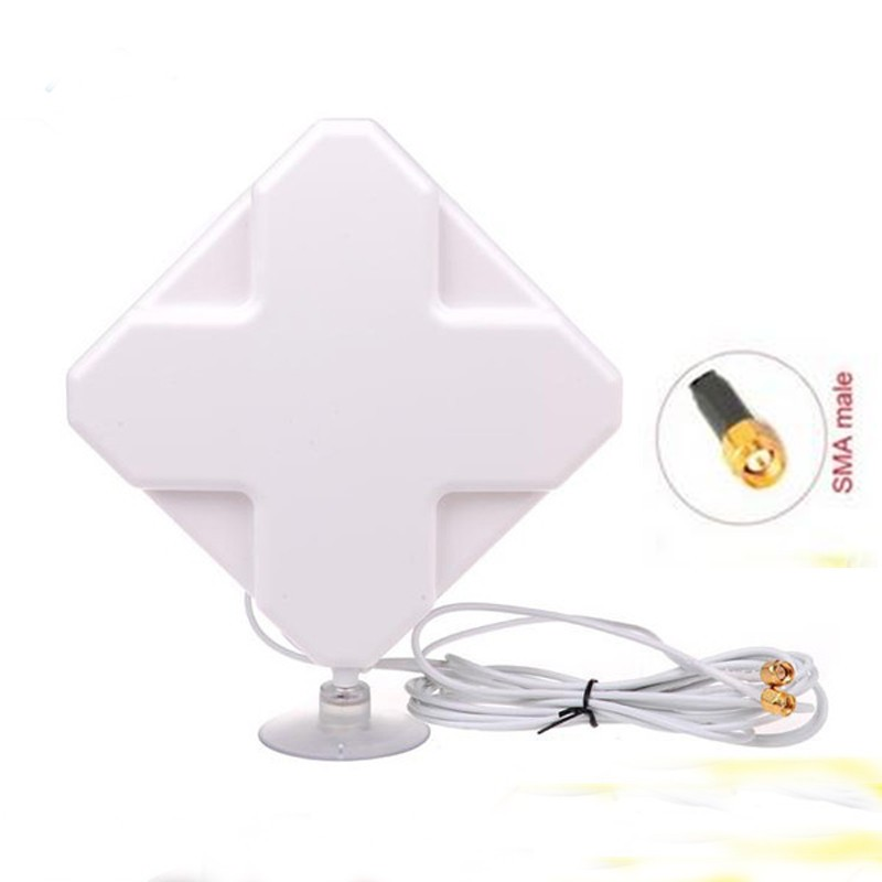 Indoor 35dBi 4G full band 700 2700mhz 2 SMA 4G LTE antenna