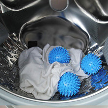 5,5/6,5 см пластик быстрее Стиральная Сушилка шары Нет химической стирки смягчить одежду Корзина для белья