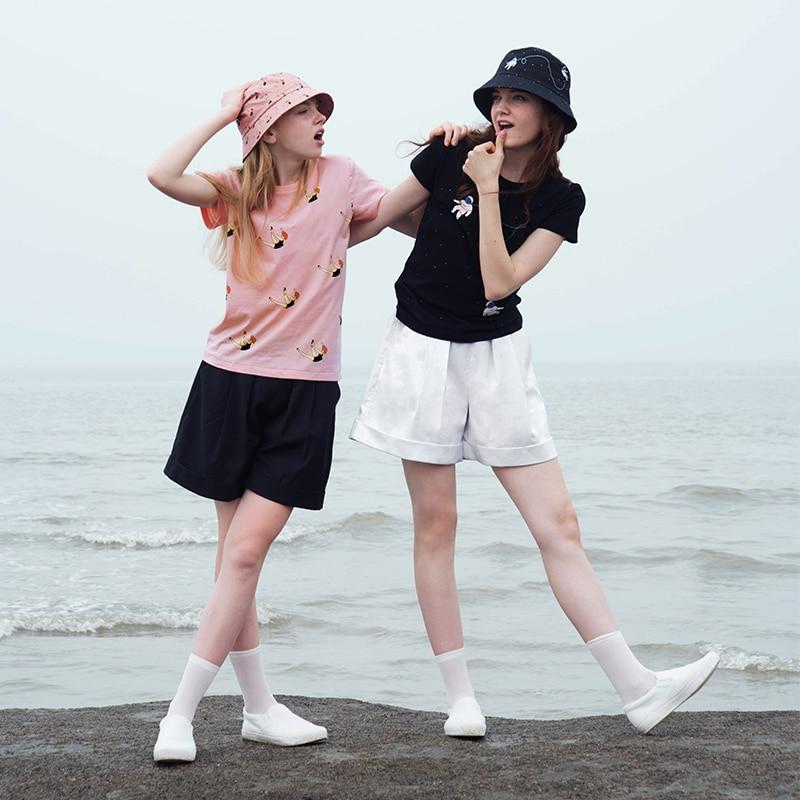 Cute Female T Shirts Summer New Women s Short sleeved T shirt HarajukuT shirts font b