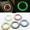 1pc interior key circle luminous styling for benz SMART Fortwo car accessories 2014 and before