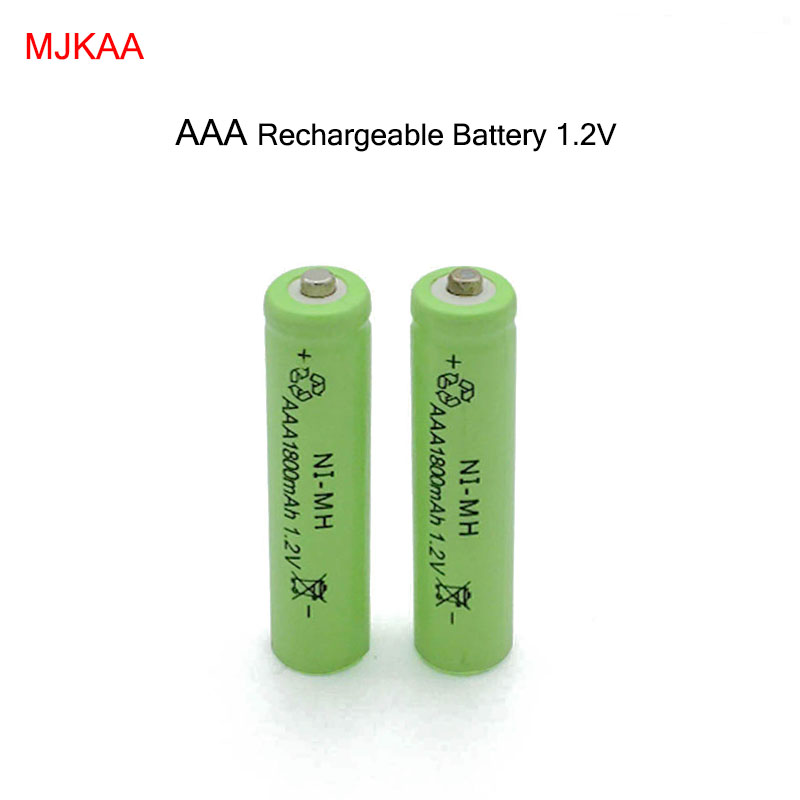 10pcs/lot New AAA 1800mAh NI-MH 1.2V Rechargeable Battery AAA Battery 3A rechargeable battery NI-MH battery for camera,toys new for 2016 2 pcs aaa 3a 1800mah 1 2v ni mh rechargeable battery