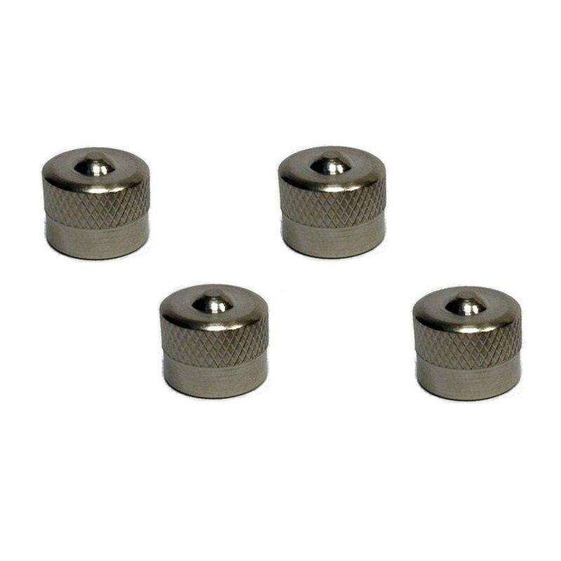 4Pcs Tire Car Tyre Valve Dust Caps For BMW Metal Superior Quality Durability Genuine Vehicle Wheel