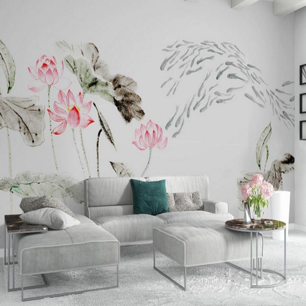 3d Abstract Flower Wallpaper Mural For Living Room Bedroom Home