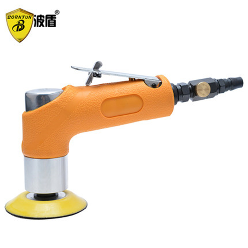 Borntun 3 Air Sander Eccentric Pneumatic Air Sander 3 inches Eccentric Pneumatic Air Polisher for Polishing Car Furniture Metal