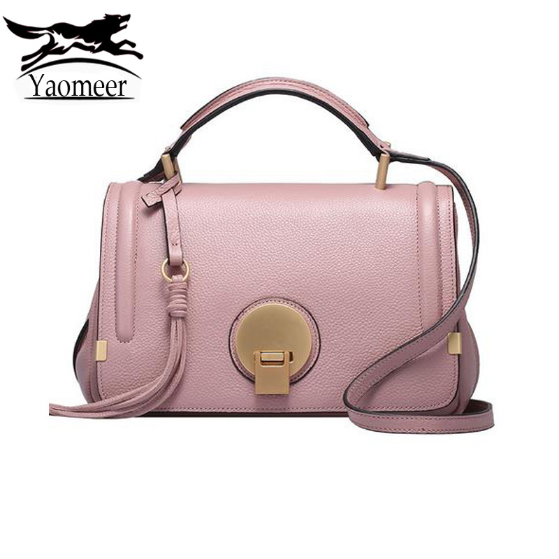 Luxury Handbags Real Genuine Leather Women Bags Fashion Cow Shoulder Bag Female Designer Famous Brand Messenger Crossbody Bags luxury genuine leather bag fashion brand designer women handbag cowhide leather shoulder composite bag casual totes