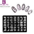 XL Medium Size Number U Design Stamp Stamping for nail art Image Konad Plate Print Nail Art Large BIG Template DIY