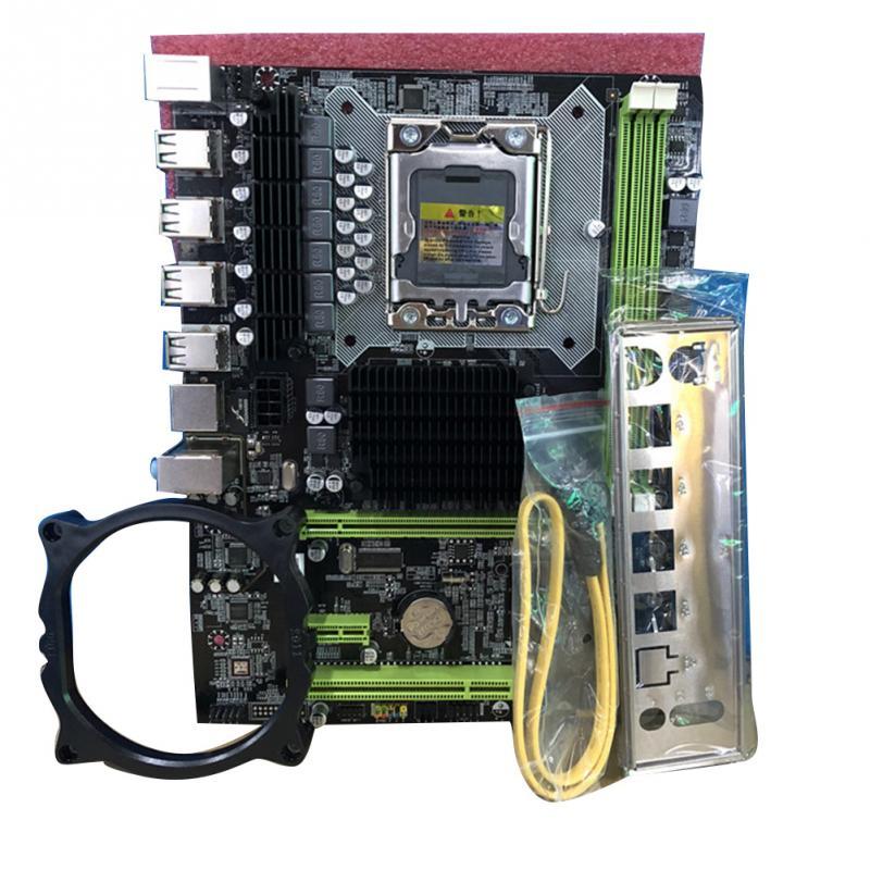 X58 Pro Cpu Lga 1366 Interface ordinateur de bureau carte mère Support Reg Ecc serveur mémoire Xeon processeur pour e5520 e5540 x5550