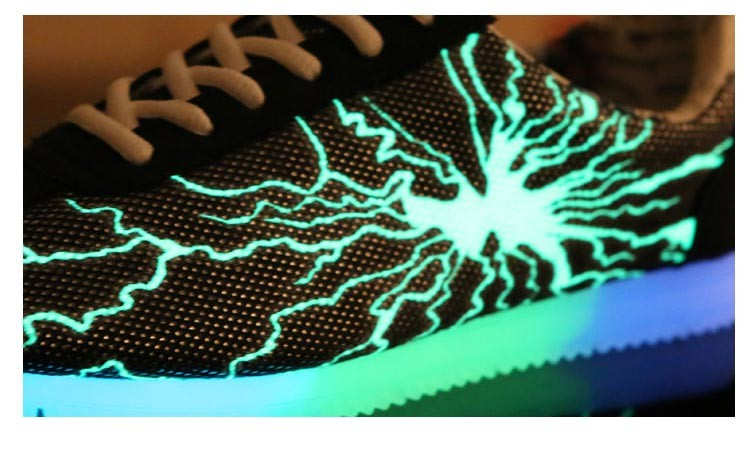 2015 new men women casual shoes lightning shoes led luminous shoes for adult  fashion fluorescent glowing Shoes chaussure  DT64 (9)