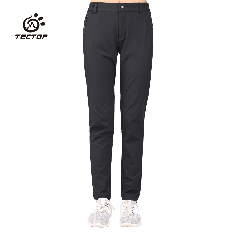 Tectop  Outdoor Women Summer Pants High Elastic Hiking Running Trousers Quick Drying Pant