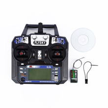 FlySky FS-i6 2.4G 6CH AFHDS RC Transmitter With FS-iA6 Receiver for Airplane Heli UAV Multicopter Drone @ZJF