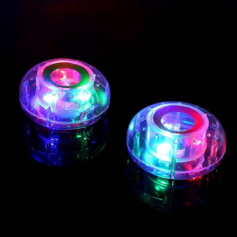 LED Lights Bath Toy Children Magic Bathtub Lights Colorful Changing Glow Bath Toys Fun Plastic Toys For Girls Boys Random Color