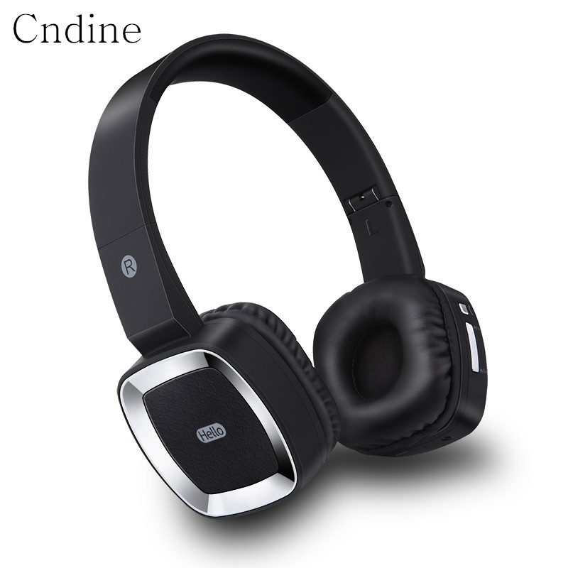 цена на Bluetooth Headphone for Smartphone Foldable Wireless Headphone Noise Cancelling Over Ear Bluetooth Headset with Microphone