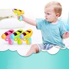 Детский Toys13-24 месяцев маленький пистолет-симулятор, электрический звук и светильник, игрушечный пистолет, подарок на день рождения, развивающие игрушки для детей 1 год