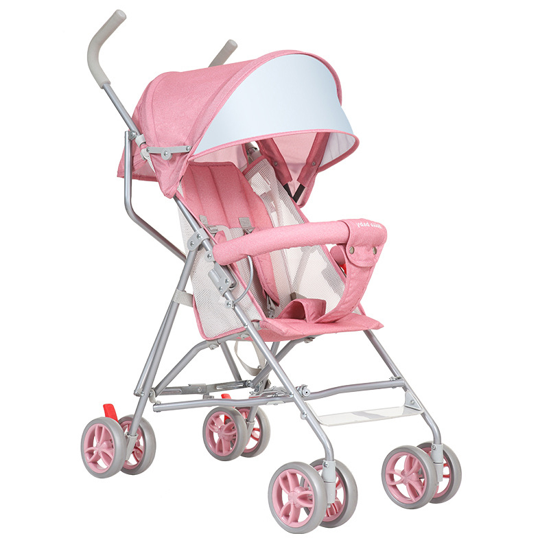 HOPE baby strollers ultra-lightweight folding can sit can lie umbrella baby trolley summer light and fashion baby carriage yibaolai baby stroller can sit can lying baby strollers the ultra light baby carriage folding umbrella baby carts