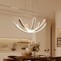 Светодио дный post современная люстра творческий стиль простой гостиной лампа моды ресторан люстра спальня лампы освещения мебель