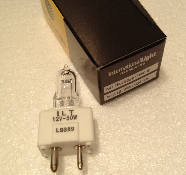 Original made in Japan ILT L9389 for BS200 bs-200 12v50w bs380 Bs-380 old machine used lamp 12v 50w gy9.5 bs200 12v20w lamp bs200 bs220 bs280 bs320 bs380 bs390 new version bs 200 12v 20w free shipping 10pcs