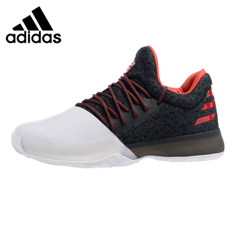 Adidas Harden Vol 1 Men Basketball Shoes Black White Shock Absorption Non slip Wear Resistant Breathable