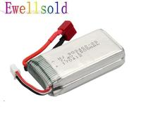 Ewellsold 7 4v 1500mAh Li Polymer Battery For V913 RC Helicopter L959 L969 L202 K959 RC