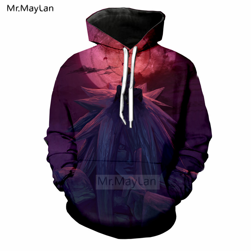 Anime Naruto Madara 3D Print Jacket Men Women Hip Hop Hoodies Casual Pullover Sweatshirt with Hat Boys Coat ropa hombre 5XL in Hoodies amp Sweatshirts from Men 39 s Clothing