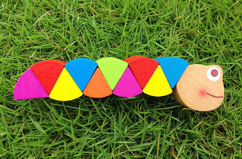 Wooden Insect Toy for Children 23