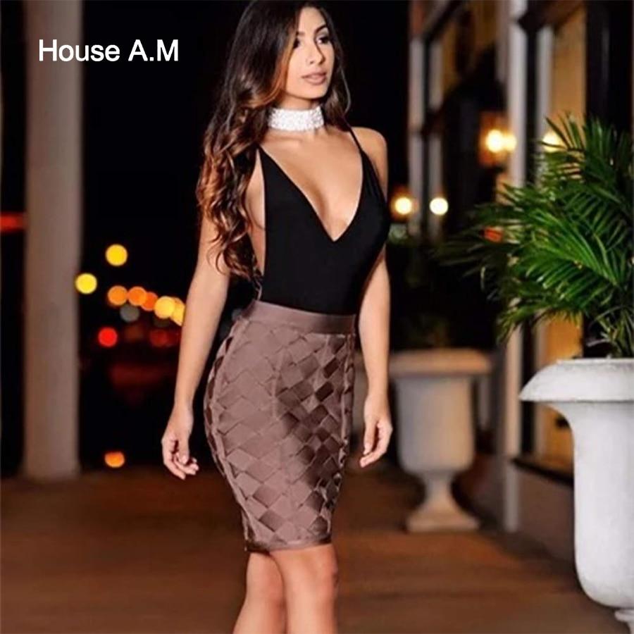 df7f12105ea High Waisted Tight Mini Skirt   Saddha
