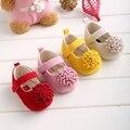 Festival de La Flor Zapatos de Bebé 0-1 Años Recién Nacido de los Bebés Primeros Caminante Zapatos para niños