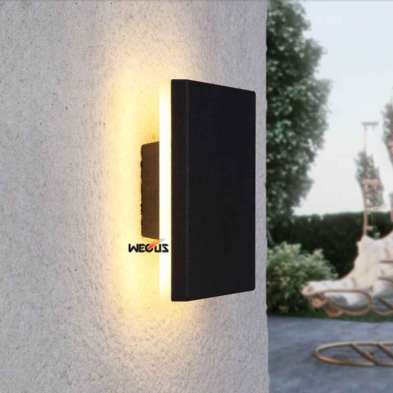 (WECUS ) Nordic Outdoor Waterproof IP65 LED Wall Light, Outdoor Corridor / Aisle Wall lamp,  Outdoor wall lighting
