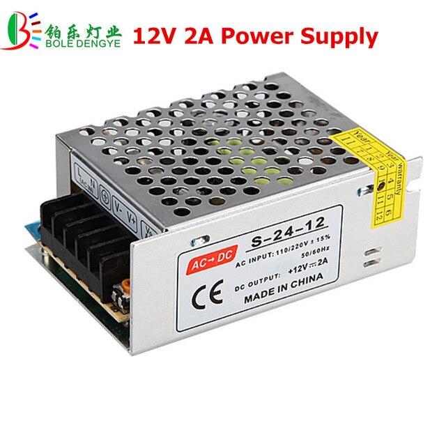 12v 2a Led Supply Ac 220v To Low Voltage Transformer 24w Driver For