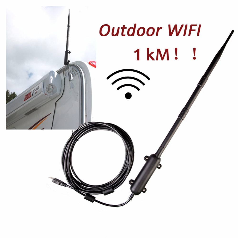 UK Shipping Outdoor 150Mbps Wireless USB Adapter 1 5km Long Wifi Range Network Card High power
