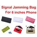 10 pçs/lote para 6 polegada isolador saco bloqueador de sinal de telefone & gravidez saco protetor radiação mantê-lo de indesejados chamadas