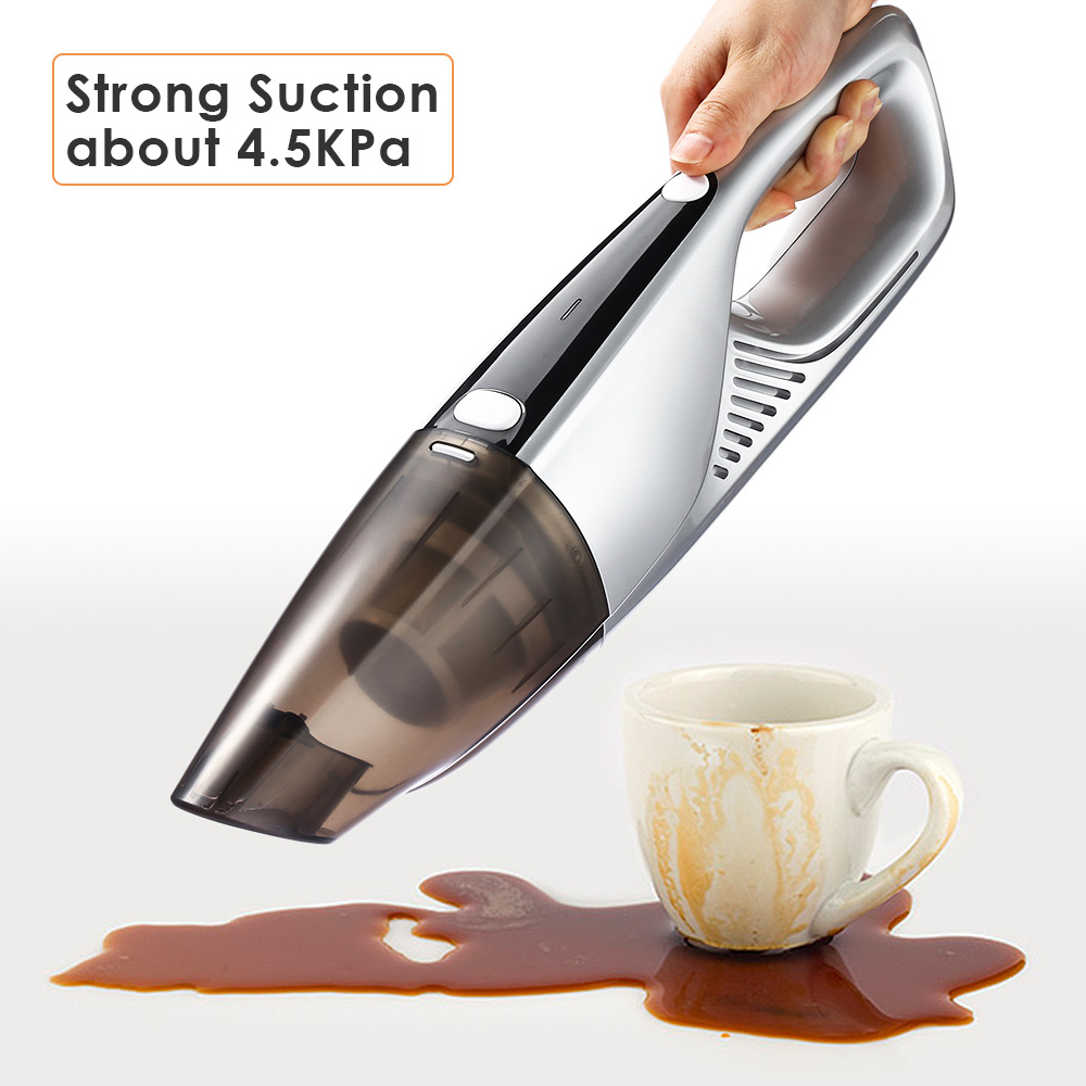 Portable Cordless Vacuum Cleaner 2000Pa Strong Suction Wet And Dry Use Handheld Vacuum Cleaner Dust Collector Home Aspirator Z30 2018 car vacuum cleaner 90w 2800pa mini portable cordless handheld auto vacuum cleaner dust suction collector dry wet dual use