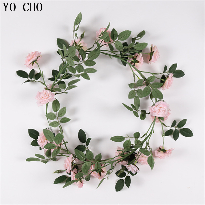 Artificial Decorations Home & Garden Creative Plastic Artificial Flower Rattan String Artificial Ivy Green Leaf Garland Plants Vine Fake Foliage Flowers Home Decor Reputation First