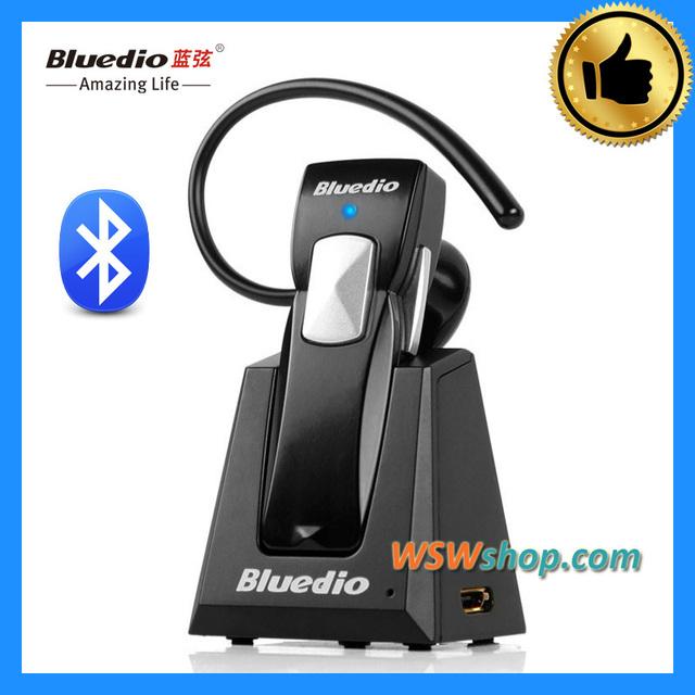 100% Original Azul dio 99BA Bludio Bluetooth Headset Conductor Auricular Inalámbrico de Auriculares Con Micrófono De Alta Calidad Con El Soporte De Carga