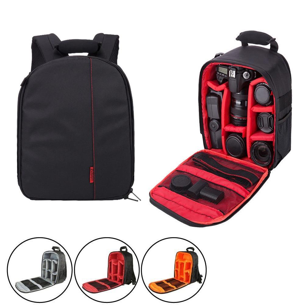New Polyester Material Outdoor Camera Backpack SLR Camera Case Coloful Waterproof Multi-functional Digital DSLR Camera Video Bag