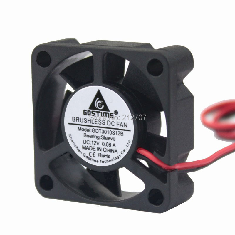 Wholesale 10pcs 120mm 12V 2Pin 120x120x25mm Hydraulic Brushless DC Cooling Fan