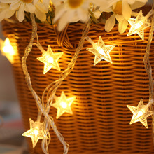 Star String Lights LED Twinkle Lights for Patio Wedding Bedroom Princess Castle Play Tents Decoration