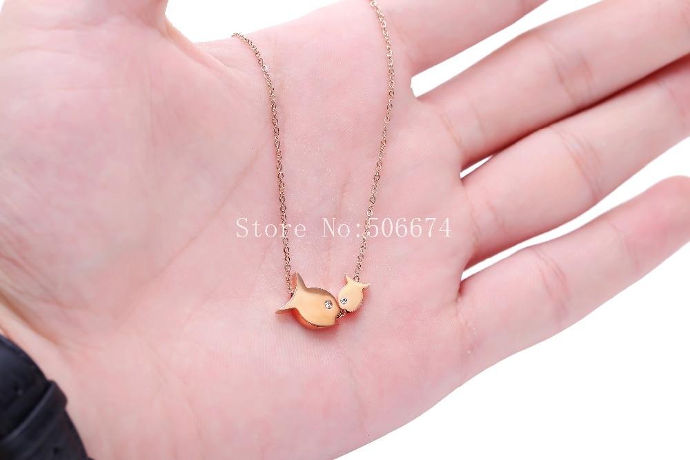 Klasyczna biżuteria na prezenty dla par kochanków, miłość - Modna biżuteria - Zdjęcie 4